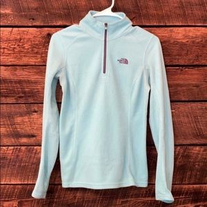 The North Face quarter zip pullover
